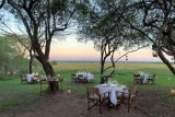 Bateleur-camp-alfresco-dining, maasai mara