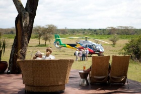 Solio lodge helicopter rides