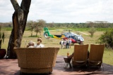 Solio Lodge helicopter ride to Mt Kenya