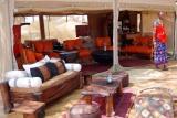 Lounge at  elephant bedroom camp, Samburu, Kenya