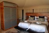 Twin room simbavati hilltop lodge