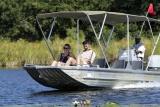 Camp okavango gameviewing by boat