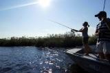 Fishing at camp okavango