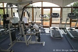 Chobe Game Lodge gym