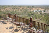 Victoria Falls Safari Lodge deck overlooking lake