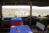Victoria Falls Safari Lodge restaurant overlooking bushveld
