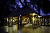 Main area at night, Serra Cafema Camp, Namibia