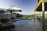 Damaraland camp pool da