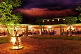 Damara mopane lodge by night