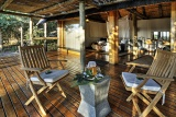 Savute Safari Lodge Chalet Deck
