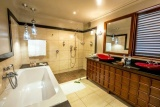 Arusha coffee lounge, plantation room bathroom