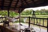 Khwai river lodge hammock
