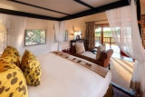 Khwai river lodge room interior