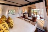 Khwai river lodge room interior