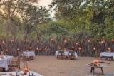 Lake Manyara Tree Lodge, dining boma