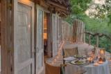 Lake Manyara Tree Lodge, room and balcony