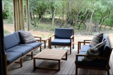 Lounge deck at bateleur camp