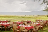 Lunch on the floor of Ngorongoro Crater