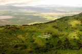 Aerial view of Rhino Lodge