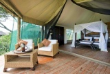 Interior, lake masek tented camp