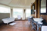 Lake masek tented camp bathroom