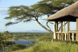 Lake masek tented camp view