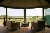 Tent with a view, lake masek tented camp
