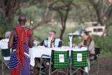 Serengeti Sopa Lodge, bush lunch
