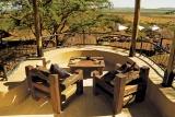 View over the pool at Serengeti Sopa Lodge