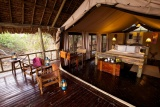 Katavi Wildlife Camp, private deck