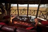 Lounge with a view at Katavi Wildlife Camp