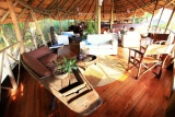 Kungwe, inside the lounge