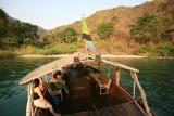 Sundowners on the lake at Kungwe