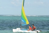 Water sports at Breezes Beach Club