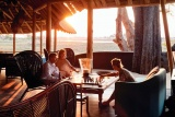 Eagle island lodge guest lounge