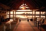 Sunset at eagle island lodge
