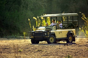 Hamiltons Tented Camp game drive through Kruger National Park