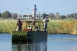 Kwando lagoon boat safari