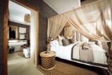Bush lodge luxury villa bedroom