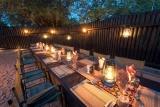 Kambaku safari lodge boma dinner