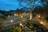 Kambaku safari lodge by night