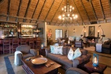 Kambaku safari lodge guest area