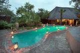 Refreshing pool at kambaku safari lodge