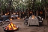 Dulini Private Game Lodge boma
