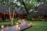 Entrance to Dulini Private Game Lodge