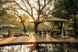 Dulini Private Game Lodge pooldeck