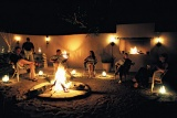 Notten's Bush Camp. Dinner in Boma.