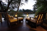 Rhino post bedroom deck