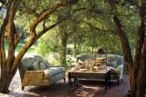 Ngala safari lodge deck