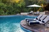 Ngala safari lodge pool deck